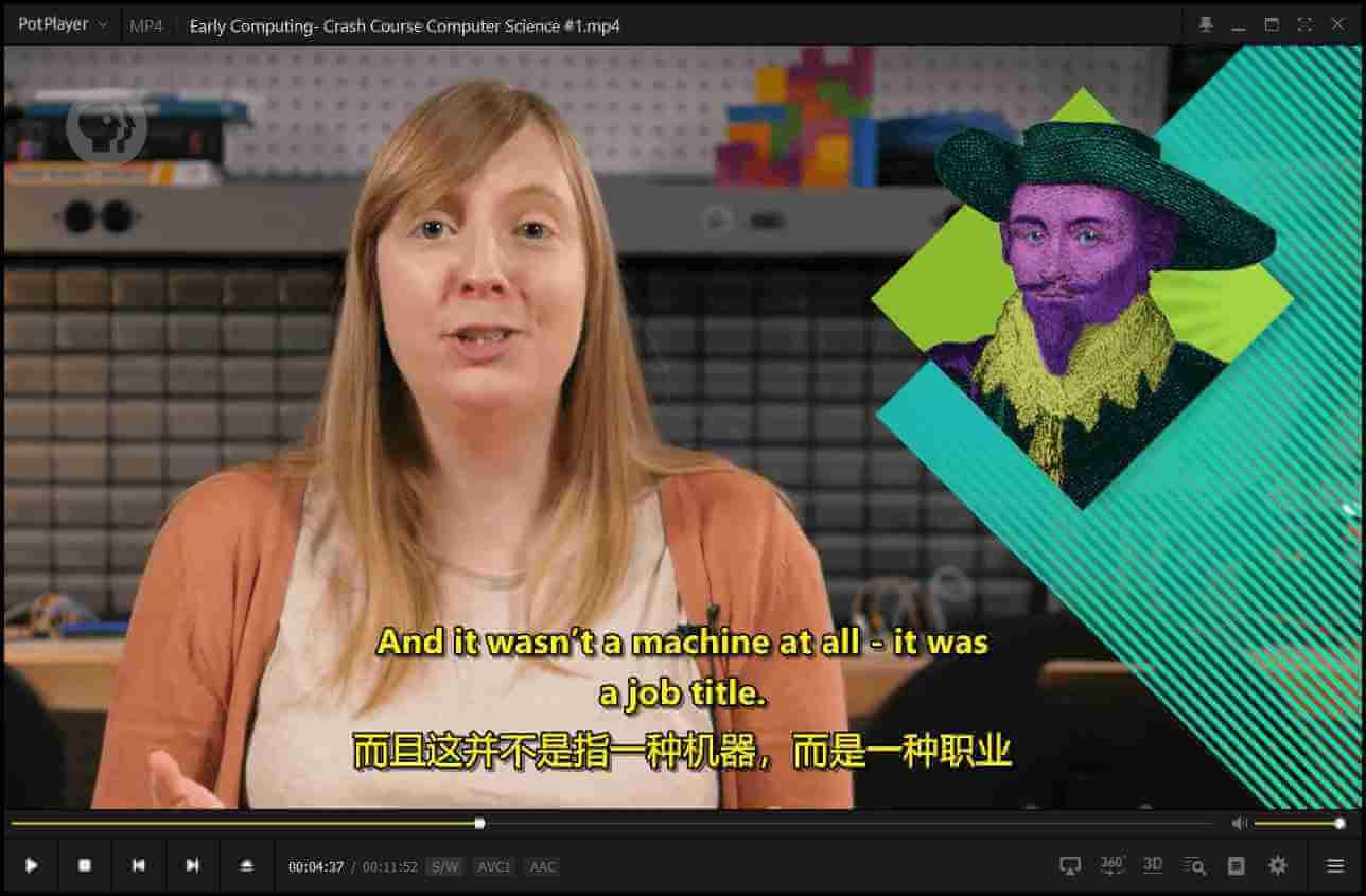 potplayer 设置双字幕显示 同时显示两个字幕